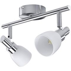 LED Spot (EU) L Plafoniera LED 4 W Bianco caldo Grigio