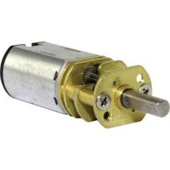 Micro motoriduttore G 250 flangiato, Ingranaggi di metallo 1:250 6 - 100 giri/min