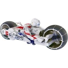 Motorrad mit Salzwasserantrieb Motocicletta
