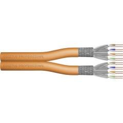Cavo di rete CAT 7 S/FTP 4 x 2 x 0.57 mm Arancione Merce a metro