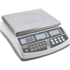 Bilancia contapezzi Portata max. 15 kg Risoluzione 0.2 g rete elettrica Argento