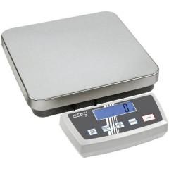 Bilancia pesa pacchi Portata max. 150 kg Risoluzione 20 g, 50 g rete elettrica, a batteria Argento