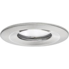 Coin Slim Lampada a LED da incasso per bagno 6.8 W Bianco caldo Ferro (spazzolato)