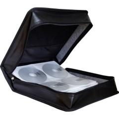 Custodia per CD 200 CD/DVD/Blu-ray Ecopelle Nero 1 pz. (L x A x P) 314 x 118 x 312 mm