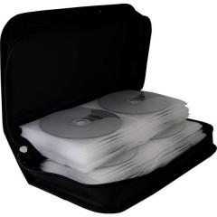 Custodia per CD 96 CD/DVD/Blu-ray Nylon Nero 1 pz. (L x A x P) 289 x 88 x 168 mm