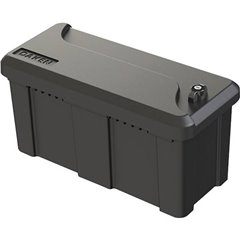 Cassetta porta attrezzi vuota per gancio rimorchio 30 kg Polipropilene 56 cm x 27 cm x 25 cm
