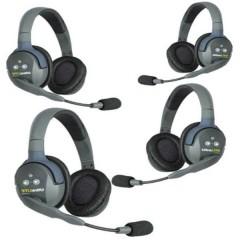 Eartec UL 4 D Radio ricetrasmittente DECT Kit da 4