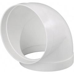 Sistema di ventilazione tubolare 150 Gomito 90 °