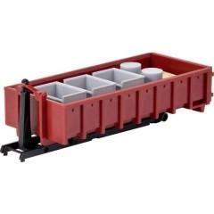 H0 Container scarrabile con gancio e carico H0
