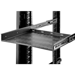 19 pollici Ripiano porta apparecchi per armadio rack 1 U Espandibile Adatto per profondità armadio: