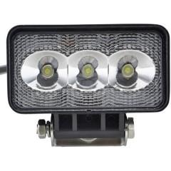 Faro da lavoro 12 V, 24 V 9 W Illuminazione da vicino (L x A x P) 66 x 66 x 66 mm 500 lm 6000 K
