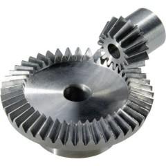 Coppia conica in acciaio Tipo di modulo: 0.5 Numero di denti: 15, 45 1 Paio/a