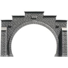 PROFI plus H0 Portale galleria per modellismo 2 Binari Modello pronto espanso rigido, Dipinto