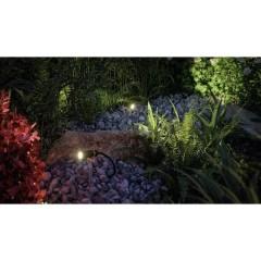 Plantini Sistema dilluminazione Plug&Shine Espansione faretto LED da giardino Kit da 3 LED (monocolore)