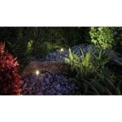 Plantini Sistema dilluminazione Plug&Shine Starter KIT faretto LED da giardino Kit da 3 LED (monocolore)