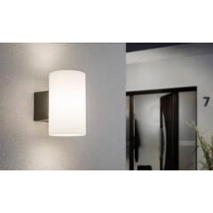 Lampada da parete per esterno LED (monocolore) E27 15 W Antracite