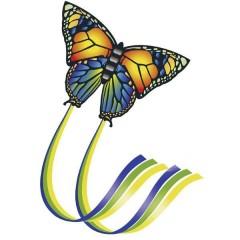 Monofilo Aquilone statico Butterfly Larghezza estensione 950 mm Intensità del vento 4 - 6 bft