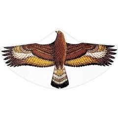 Monofilo Aquilone statico Aquila reale Larghezza estensione 1220 mm Intensità del vento 3 - 6 bft