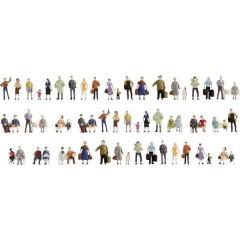Set mega assortimento di personaggi in scala TT