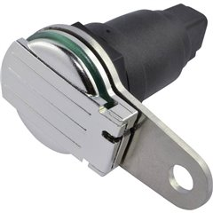 Presa accendisigari con coperchio ribaltabile a molla e piastra di supporto Portata massima corrente=20 A Adatto