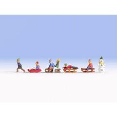 TT Personaggi Bambini sulla neve