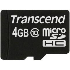Premium Scheda microSDHC 4 GB Class 10
