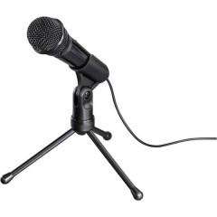 MIC-935 Allround Microfono per PC Nero Cablato incl. stativo