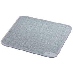 Textildesign Mouse Pad Grigio (L x A x P) 190 x 3 x 190 mm