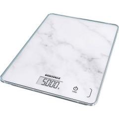 Page Compact 300 Marble Bilancia da cucina digitale digitale Grigio