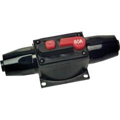Fusibile automatico HiFi per auto Adatto per: 80 A protetto dagli spruzzi dacqua
