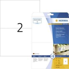 Etichette 210 x 148 mm Carta Bianco 50 pz. Permanente Etichetta super resistente, Etichetta universale