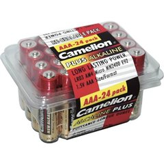 Plus LR03 Batteria Ministilo (AAA) Alcalina/manganese 1250 mAh 1.5 V 24 pz.