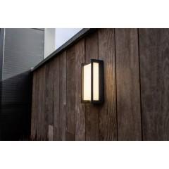 Qubo Lampada da parete per esterni a LED 18 W Bianco caldo Antracite
