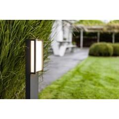 Qubo Lampada da terra per esterni LED (monocolore) LED a montaggio fisso 15 W Antracite