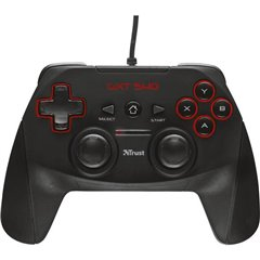 GXT 540 Gamepad PC, PlayStation 3 Nero