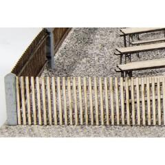 Steccato Kit da montare, Grezzo H0