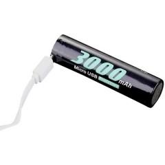 18650USB-3.7-3000 Batteria ricaricabile speciale 18650 Li-Ion 3.6 V 3000 mAh