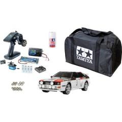 TT-02 Audi Quattro Rally Brushed 1:10 Automodello Elettrica Auto stradale 4WD Kit risparmio 2,4 GHz Kit