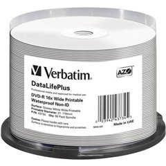 DVD-R vergine 4.7 GB 50 pz. Torre stampabile