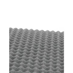 Panno griglia altoparlante (L x L x A) 200 x 100 x 2 cm Poliuretano