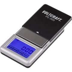 PS-200 Bilancia tascabile Portata max. 200 g Risoluzione 0.01 g a batteria Nero, Argento