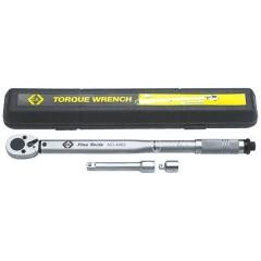 Chiave dinamometrica con cricchetto reversibile 1/2 (12.5 mm) 42 - 210 Nm