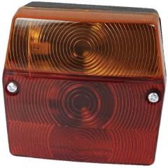 Fanale posteriore per rimorchio Connettore da 6,3 mm Luce di direzione, Luce di stop, Luce targa, Fanale