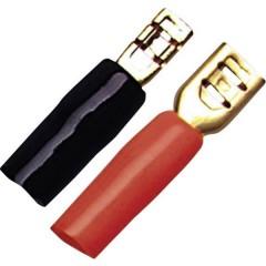 Kit spine per altoparlanti HiFi per auto 1 x 4 mm² placcato oro