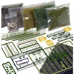 Kit base creazione del terreno, foresta, prato