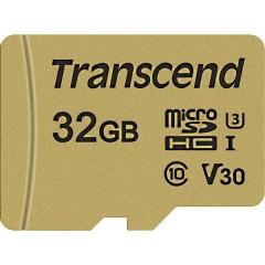 Premium 500S Scheda microSDHC 32 GB Class 10, UHS-I, UHS-Class 3, v30 Video Speed Class incl. Adattatore SD