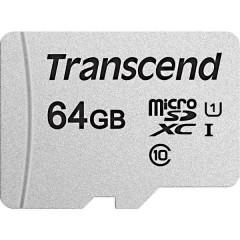 Premium 300S Scheda microSDXC 64 GB Class 10, UHS-I, UHS-Class 1