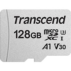 Premium 300S Scheda microSDXC 128 GB Class 10, UHS-I, UHS-Class 3, v30 Video Speed Class, A1 Application