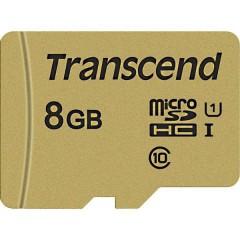 Premium 500S Scheda microSDHC 8 GB Class 10, UHS-I, UHS-Class 1 incl. Adattatore SD