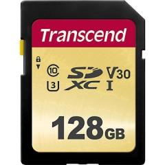 Premium 500S Scheda SDXC 128 GB Class 10, UHS-I, UHS-Class 3, v30 Video Speed Class